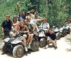 atv jungle tour playa del carmen mexico