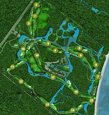 Golf Club Mayakoba El Camaleon Playa Del Carmen Riviera Maya Mexico